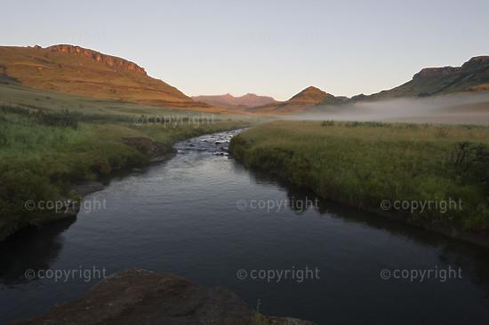 The Pholela River flowing through the Cobham Nature Reserve