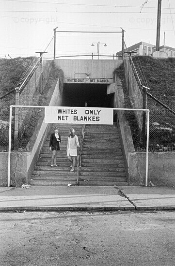 Whites Only entrance