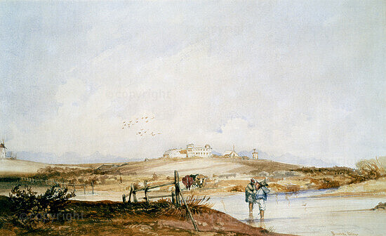The Royal Observatory, Cape Town, 1844