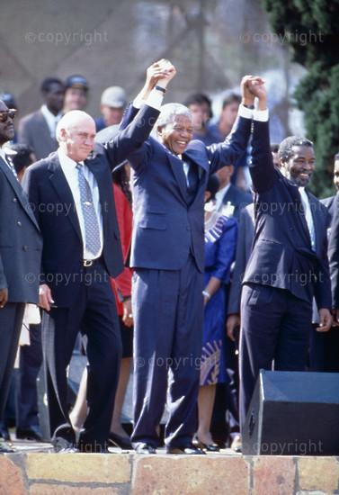 Inauguration of President Nelson Mandela