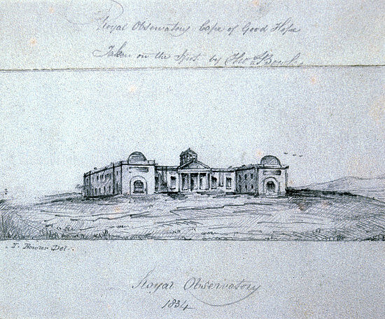 Royal Observatory, 1834
