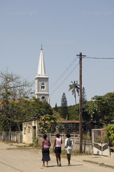 Mozambique, Beira, Beira Cathedral, erected between 1907 and 1925 using the stones taken from the Portuguese fort at Sofala. 2005