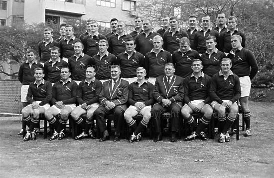 Springbok Side For 1965