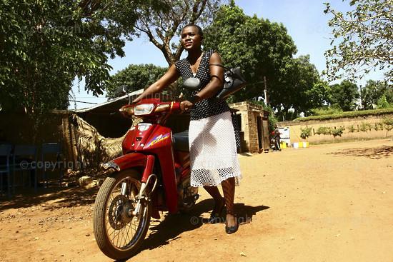 Diane Kankyono la princesse de Burkina Faso