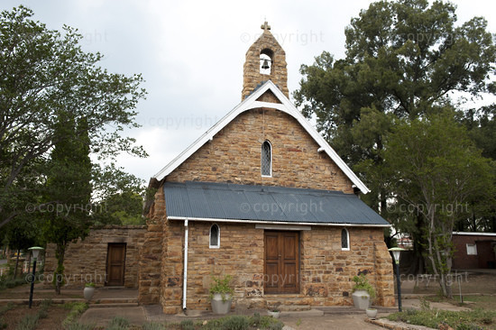 Historical church, Cullinan, near Pretoria, South Africa