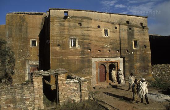 Mikael Imba rock-hewn church, Eastern Tigray, Ethiopia