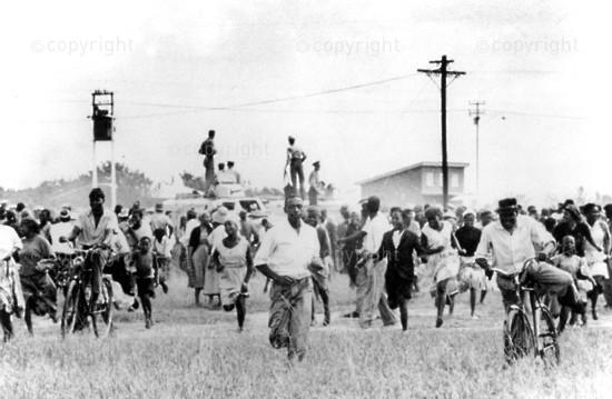 Sharpeville massacre - how it began