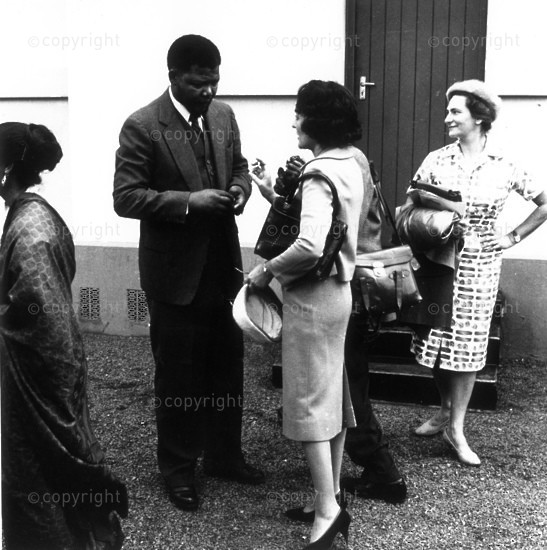 Nelson Mandela and Ruth First