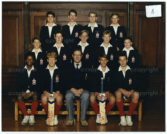 U14A Cricket Team of 1990