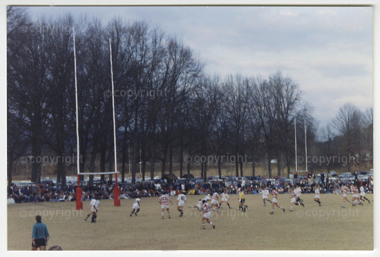 Rugby Match  in 1990