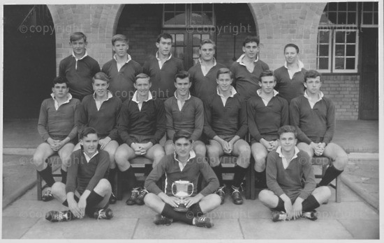 Baines House Rugby 1964