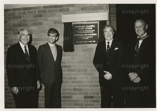 Opening of Music School 1988