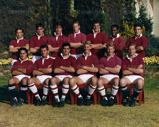 Founder's House Rugby 1993