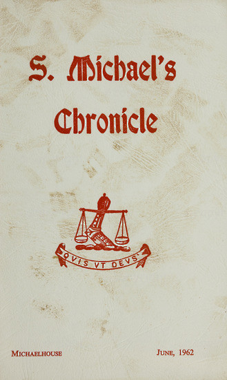 S. Michael's Chronicle June 1962