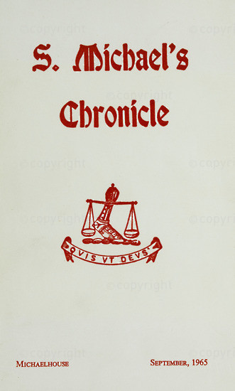 S. Michael's Chronicle September 1965