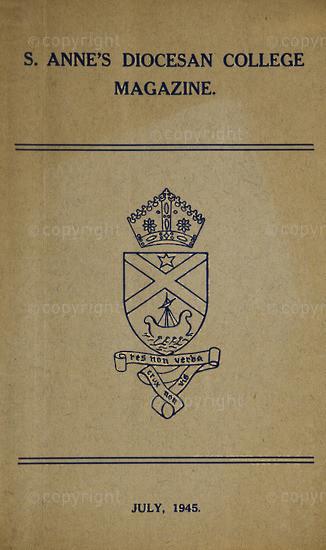 S. Anne's Diocesan College Magazine