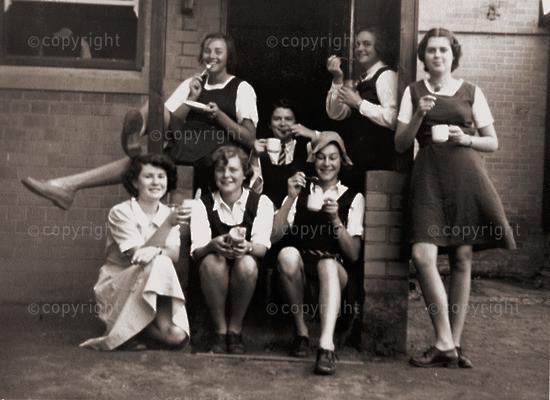 Last prefects' tea