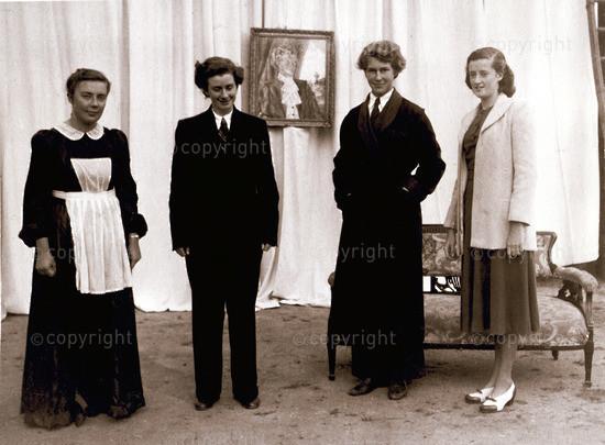 Berkeley Square: Mrs Barwick, Ambassador, Peter & Marjorie