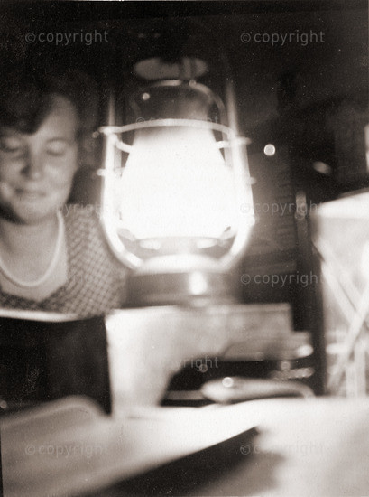 Matric study - the lights fused