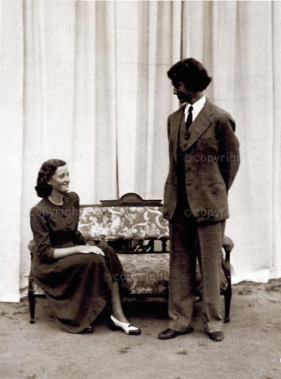 Berkeley Square - Marjorie and Peter