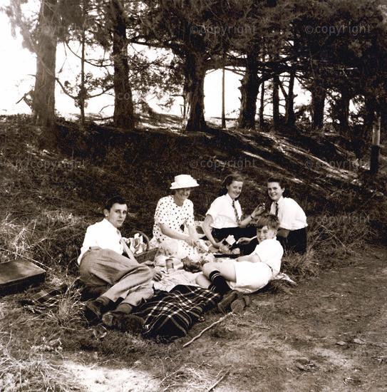 Picnicking One Sunday