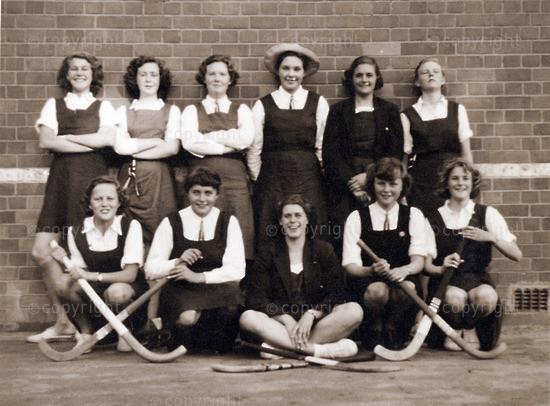 Fifth Form hockey team