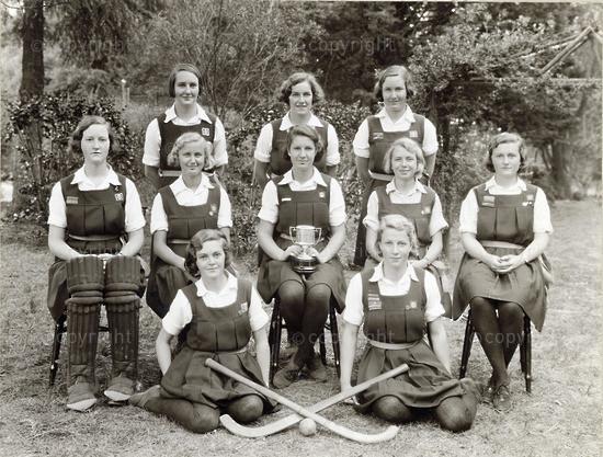 Hockey team, 1934