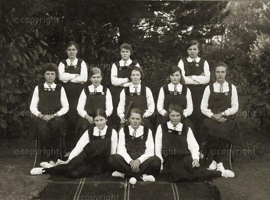 Cricket team, 1917