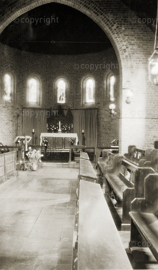 Chapel for All Saints Day Service