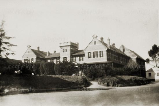 View of school, 1934/1935