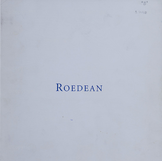 Marketing Pack/ Prospectus (Outer Cover), Roedean School (S.A.), 1998.
