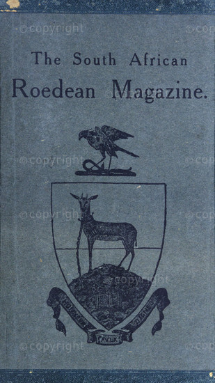 The South African Roedean Magazine May 1907