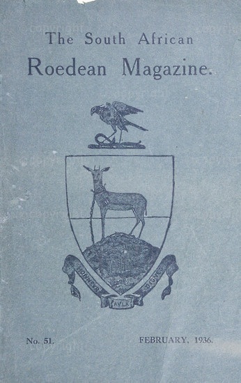 The South African Roedean Magazine February 1936