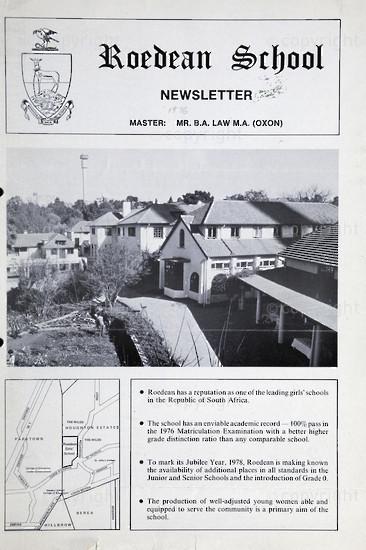 Roedean School Newsletter 1976