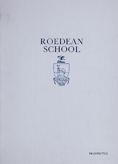 Prospectus, Roedean School (S.A.), date unknown.