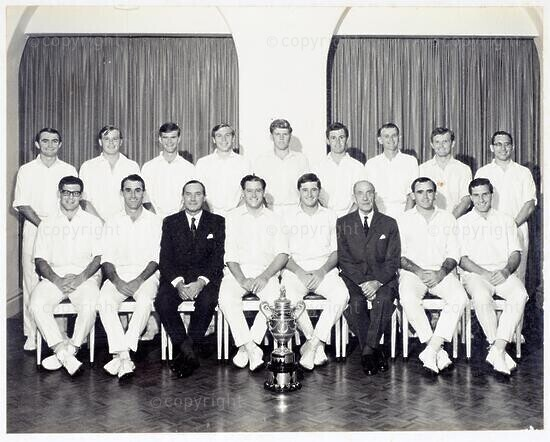 Natal Cricket Team Currie Cup Winners 1966-67