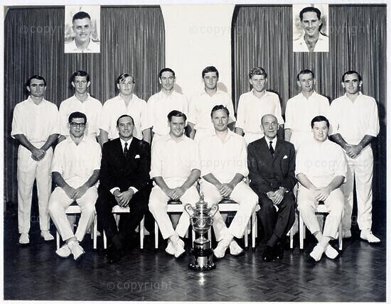 Natal Cricket Team Currie Cup 1965-66: Joint Winners with Transvaal