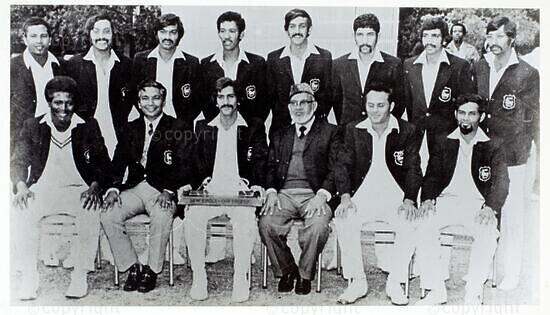 Natal Cricket Board Team, Winners - SFW Knock Out Trophy, 1974/75