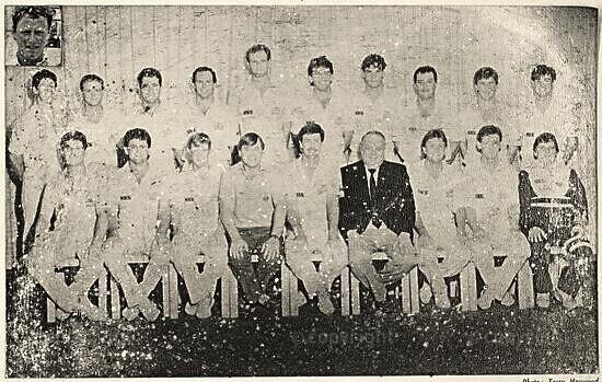 Natal Cricket Team, 1990/1991