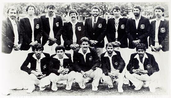 Natal Cricket Board Team, 1985/86