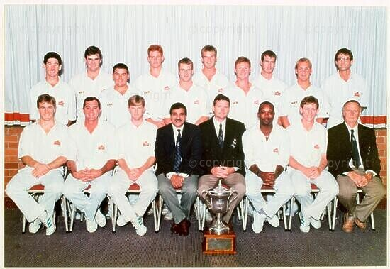 Natal Cricket Team, 1994/1995 Winner Castle Cup