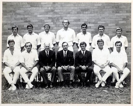 Natal Cricket Team, 1971/72
