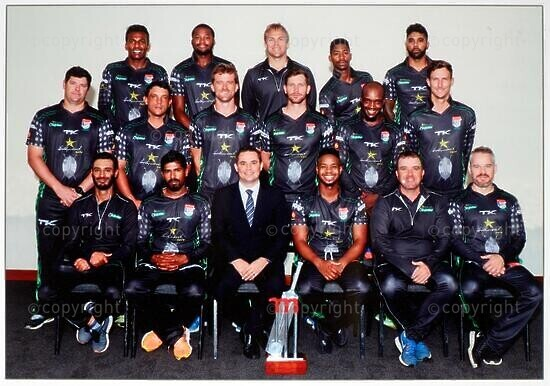 Hollywoodbets Dolphin Cricket Team Joint Winners Momentum One Day Cup 2017/2018