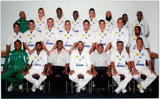 The Nashua Dolphins Supersport Series Squad 2008/2009