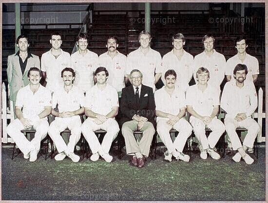 Natal Cricket Team 1983/1984. Winners - Benson and Hedges Trophy