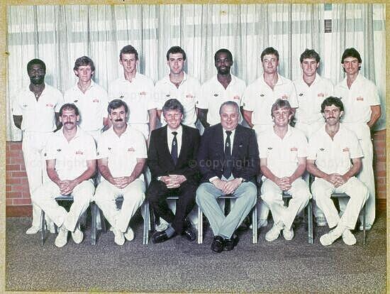 Natal Cricket Team, 1986/87 (Winner: Nissan Shield)
