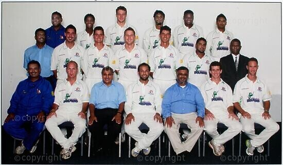 Kwazulu-Natal Nashua Dolphins Cricket Team, Supersport Series 2007-2008