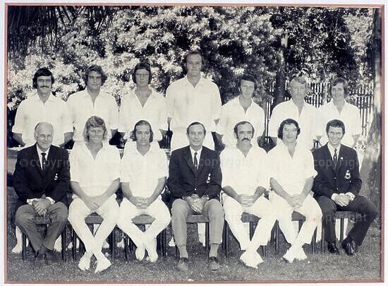 Natal Cricket Team, 1972/73