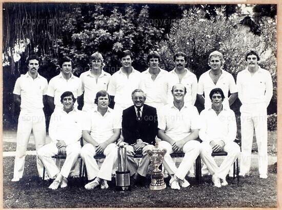 Natal SAB Currie Cup Team, 1980/1981, Winners SAB Currie Cup and Computer Science Trophy