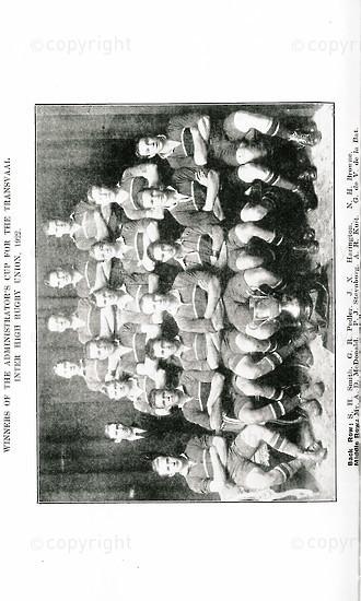 The Pretorian, December 1922, Vol. 3, No. 8